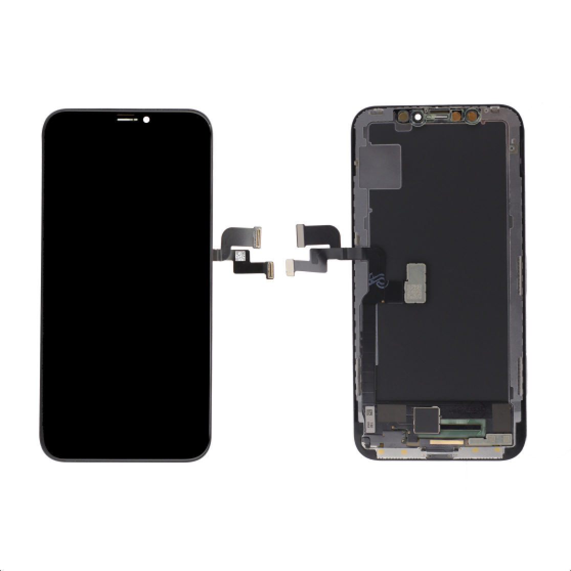 Platinum Soft OLED (FOG) for use with iPhone X (Black)